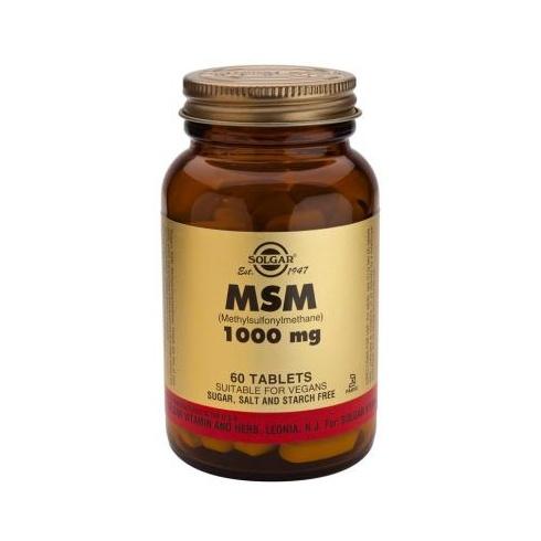 Solgar MSM 1000mg 60's