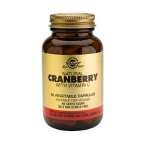 Natural Cranberry with Vitamin C 60's
