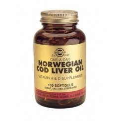 One-a-Day Norwegian Cod Liver Oil 100 softgels