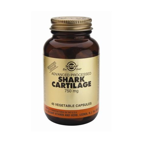 Solgar Shark Cartilage 750mg 45's
