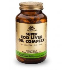 Super Cod Liver Oil Complex 60 softgels
