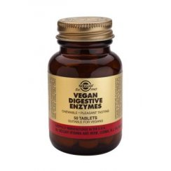 Vegan Digestive Enzymes (Chewable) 50 tabs