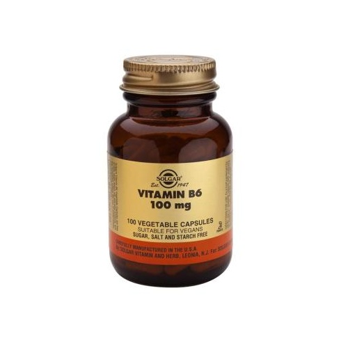 Solgar Vitamin B6 100mg 100's
