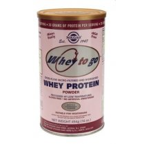 Whey To Go Protein Powder (Natural Strawberry) 454g