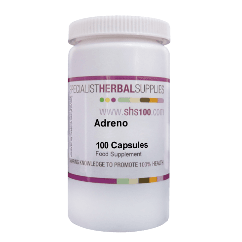 Specialist Herbal Supplies (SHS) Adreno Capsules 100's