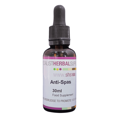 Specialist Herbal Supplies (SHS) Anti-Spas Tincture 30ml