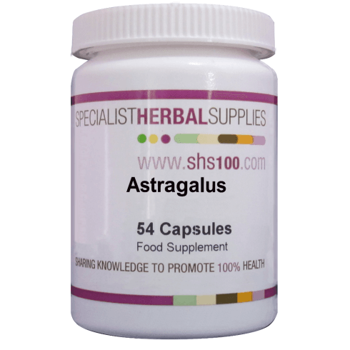 Specialist Herbal Supplies (SHS) Astragalus Capsules 54's