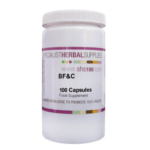 Specialist Herbal Supplies (SHS) BF&C Capsules 100s