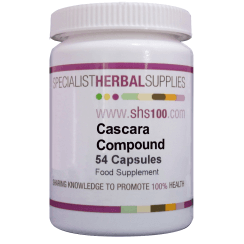 Cascara Compound Capsules 54s