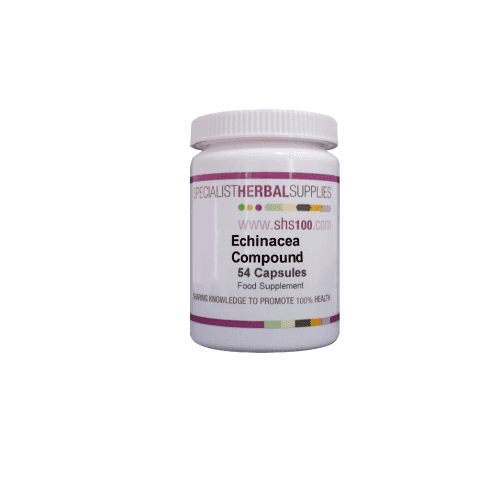 Specialist Herbal Supplies (SHS) Echinacea Compound Capsules 54s