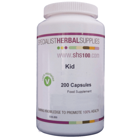 Specialist Herbal Supplies (SHS) Kid Capsules 200's