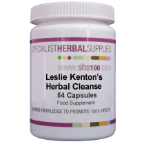 Lesley Kenton's Herbal Cleanse 54s