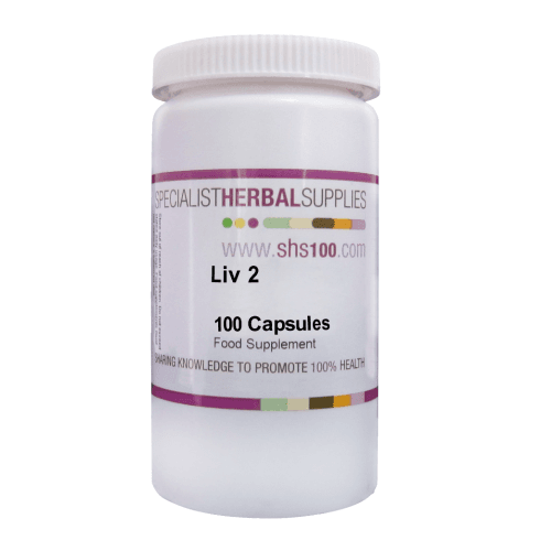 Specialist Herbal Supplies (SHS) Liv 2 Capsules 100's