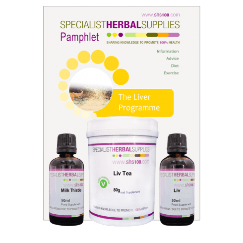 Specialist Herbal Supplies (SHS) Liver Programme with Drops 30 day pack
