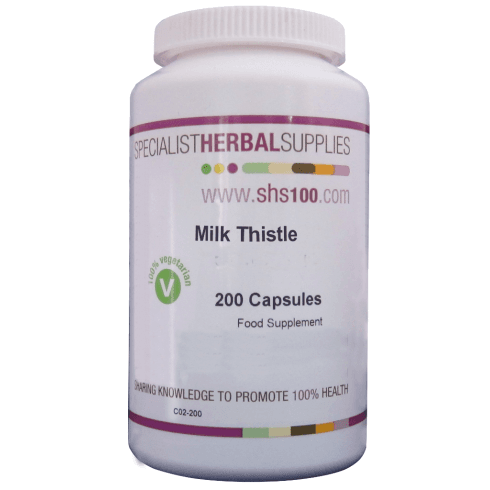 Specialist Herbal Supplies (SHS) Milk Thistle Capsules 200's