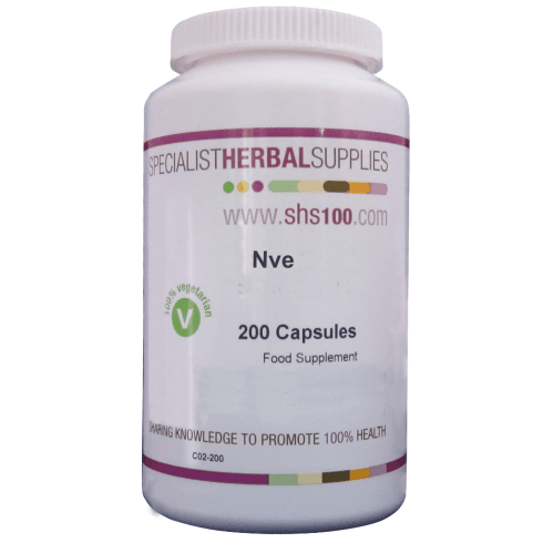 Specialist Herbal Supplies (SHS) Nve Capsules 200's