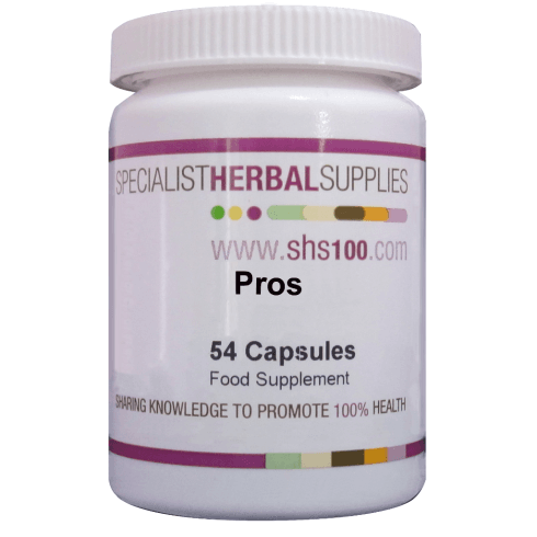 Specialist Herbal Supplies (SHS) Pros Capsules 54s