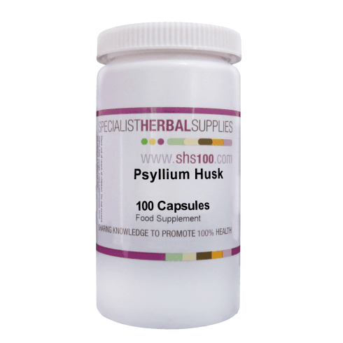 Specialist Herbal Supplies (SHS) Psyllium Husk Capsules 100's