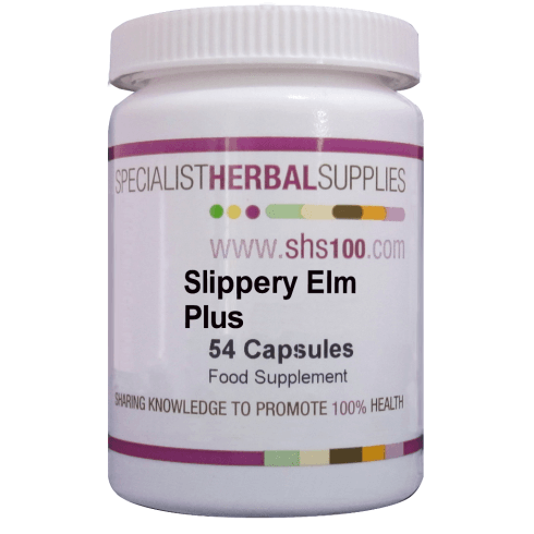 Specialist Herbal Supplies (SHS) Slippery Elm Plus Capsules 54's