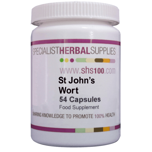 Specialist Herbal Supplies (SHS) St John's Wort Capsules 54's
