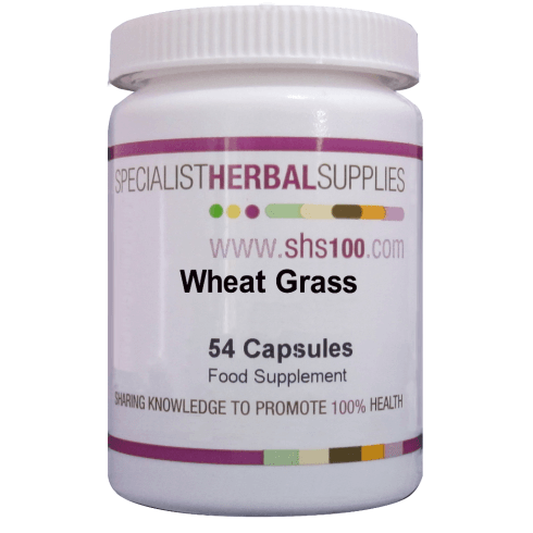 Specialist Herbal Supplies (SHS) Wheat Grass 54's