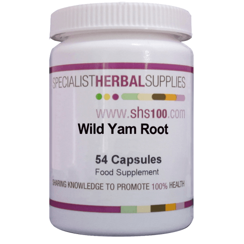 Specialist Herbal Supplies (SHS) Wild Yam Root Capsules 54s