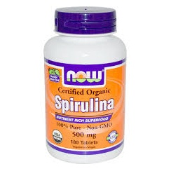 Spirulina 500 tablets - 500mg - ORGANIC