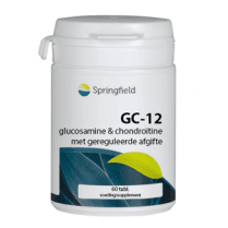 GC-12 Glucosamine 500mg + Chondroitin 400mg 12hr Release, 60's