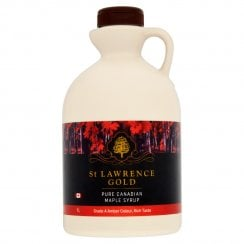 St Lawrence Gold Pure Canadian Maple Syrup Grade A Amber Colour Rich Taste 1 litre