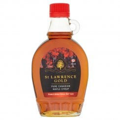 St Lawrence Gold Pure Canadian Maple Syrup Grade A Amber Colour Rich Taste 250ml