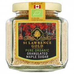 St Lawrence Gold Pure Organic Granulated Maple Sugar 125g