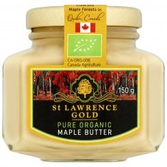 St Lawrence Gold Pure Organic Maple Butter 150g