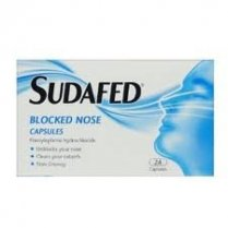 Sudafed Blocked Nose - Pack of 12 Capsules