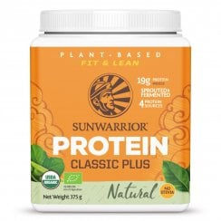 Sunwarrior Classic Plus Natural 375g powder (Orange Tub) (Currently Unavailable)