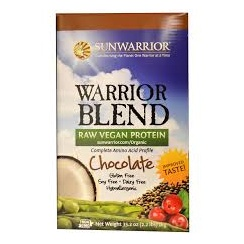 Sunwarrior Protein Raw Vegan Chocolate 1kg