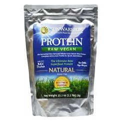 Sunwarrior Protein Raw Vegan Natural 1kg