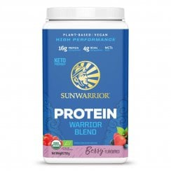 Sunwarrior Warrior Blend Berry 750g powder (Blue Tub)
