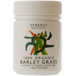 Synergy Natural Organic Barley Grass Powder - 100g