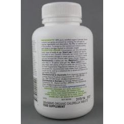 Synergy Natural Organic Chlorella Tablets - 500 Tabs