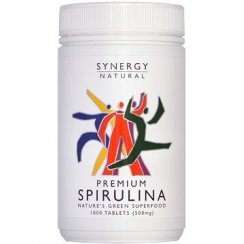 Synergy Natural Premium Spirulina - 1000 tabs
