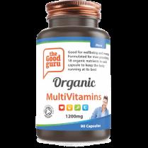 the Good guru Organic MultiVitamins Mens 90's