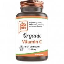 the Good guru Organic Vitamin C High Strength 1200mg 30's
