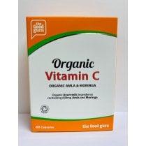 the Good guru Organic Vitamin C High Strength 1200mg 60's