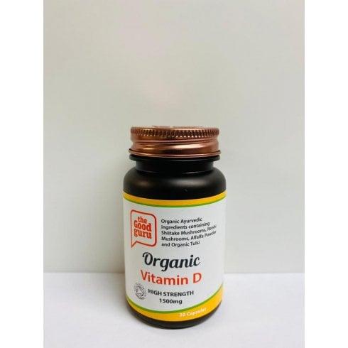 the Good guru Organic Vitamin D High Strength 1500mg 30's