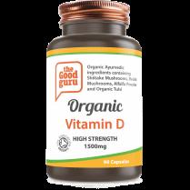 the Good guru Organic Vitamin D High Strength 1500mg 90's