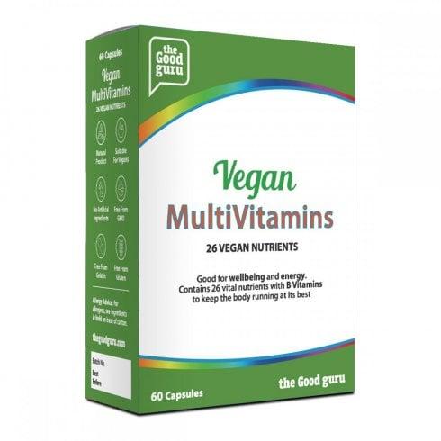 the Good guru Vegan Multivitamins 60's