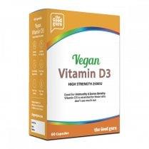the Good guru Vegan Vitamin D3 High Strength 2500iu 60's
