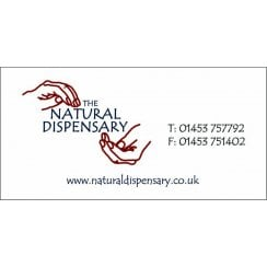 The Natural Dispensary Three Compartment Pill Box