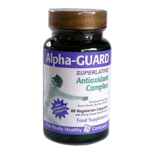 The Really Healthy Company Alpha-Guard Antioxidant Complex 60's