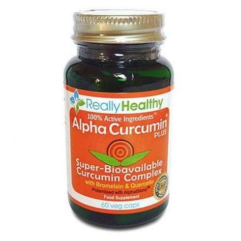 The Really Healthy Company AlphaCurcumin Plus 60's